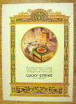 Click to view larger image of 1926 Lucky Strike Cigarettes with Pack of Cigarettes (Image2)