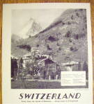 Click to view larger image of 1928 Swiss Federal Railroads with Switzerland (Image3)