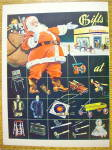 Click to view larger image of 1945 Firestone with Santa Claus & Bag Of Toys (Image2)