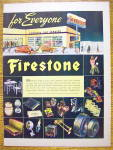 Click to view larger image of 1945 Firestone with Santa Claus & Bag Of Toys (Image3)