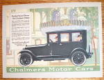 1919 Chalmers Motor Cars with the Chalmers Sedan