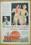 Click to view larger image of 1934 Coca Cola (Coke) with Two Women On Bikes (Image2)