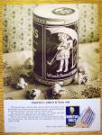 1965 Morton Salt with Little Girl On Container