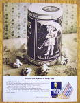 Click to view larger image of 1965 Morton Salt with Little Girl On Container (Image2)