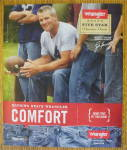 Click to view larger image of 2010 Wrangler Jeans with Football's Brett Favre (Image1)