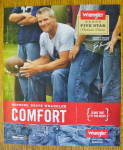 Click to view larger image of 2010 Wrangler Jeans with Football's Brett Favre (Image2)