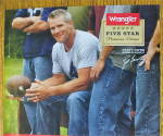 Click to view larger image of 2010 Wrangler Jeans with Football's Brett Favre (Image3)