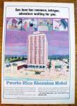 Click to view larger image of 1965 Puerto Rico Sheraton Hotel In San Juan (Image1)