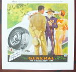 Click to view larger image of 1934 General Tire with a General Talking to a Man (Image3)
