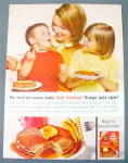 Click to view larger image of 1963 Aunt Jemima's Pancake Mix w/Mom & Kids (Image2)