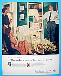 Click to view larger image of 1956 Beer Belongs w/Dad Rehearses His Speech-Crockwell (Image1)