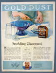 Click to view larger image of 1925 Gold Dust Washing Powder w/Woman Doing Dishes (Image2)