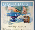 Click to view larger image of 1925 Gold Dust Washing Powder w/Woman Doing Dishes (Image3)