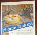 Click to view larger image of 1922 Minute Tapioca with Bowl Of Tapioca Pudding  (Image2)