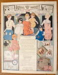 Click to view larger image of 1923 Royal Society Embroidery with Different Fashions (Image2)
