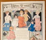 Click to view larger image of 1923 Royal Society Embroidery with Different Fashions (Image3)