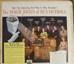 Click to view larger image of 1941 RCA Victor Victrola with Group of People Talking  (Image4)