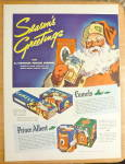 Click to view larger image of 1936 Camel Cigarettes with Santa Claus  (Image2)