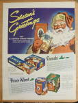 Click to view larger image of 1936 Camel Cigarettes with Santa Claus  (Image3)