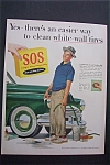 1955  S.O.S. Magic  Scouring  Pads