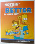 Click to view larger image of 2001 Nestle Butterfinger with Bart Simpson (Image1)