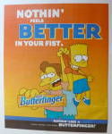 Click to view larger image of 2001 Nestle Butterfinger with Bart Simpson (Image3)