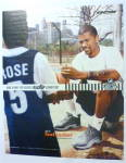 Click to view larger image of 2001 Reebok Blacktop with Jalen Rose  (Image3)