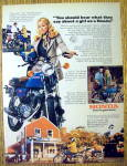 Click to view larger image of 1976 Honda CB-125S with Suzanne Somers (Image1)