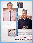 Vintage Ad: 1954 Van Heusen Shirts with Cesar Romero