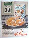 Click to view larger image of 1963 Kellogg's Frosted Flakes with Friday The 13th  (Image2)