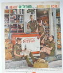 Click to view larger image of 1959 Coca Cola (Coke) with Boys Scouts Drinking Coke (Image4)