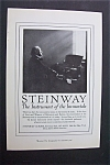 Click here to enlarge image and see more about item 1858: Vintage Ad: 1920 Steinway Pianos & Grape - Nuts Cereal