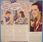 Click to view larger image of 1937 Crisco Shortening with Children Having Cake (Image2)