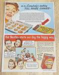 1941 Nestle's With Toll House Cookies & Instant Cocoa