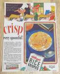 1941 Kellogg's Rice Krispies W/ Snap, Crackle & Pop