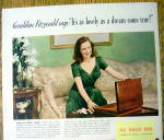 Click to view larger image of 1940 Ad:Rogers Bros. Silverplate w/Geraldine Fitzgerald (Image2)