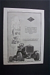 1918 Dual Ad: Diamond T Freight Car & Disston Saw