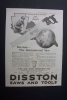 Click to view larger image of 1918 Dual Ad: Diamond T Freight Car & Disston Saw (Image2)