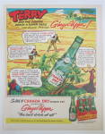 1953 Canada Dry Ginger Ale with Terry & The Pirates