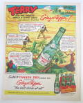Click to view larger image of 1953 Canada Dry Ginger Ale with Terry & The Pirates (Image2)