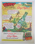 Click to view larger image of 1953 Canada Dry Ginger Ale with Terry & The Pirates (Image3)