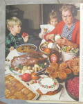 Click to view larger image of 1971 Log Cabin Syrup with Woman Cooking & Baking  (Image4)