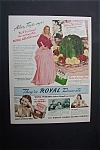 1940 Royal Desserts with Alice Faye & Jane Withers