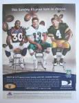 Click to view larger image of 1999 DirecTV w/ Brett Favre, Dan Marino & David Bruton (Image2)