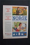 Click to view larger image of 1944 Dual Ad: Norge  Appliances  &  Kem  Tone  Paint (Image1)