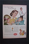 Click to view larger image of 1951 Dual Ad: Pablum  Cereals  &  Tide  Detergent (Image1)
