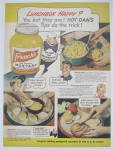 Click to view larger image of 1944 French's Mustard with Hot Dan The Mustard Man (Image2)