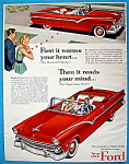 Click to view larger image of Vintage Ad: 1955 Ford (Image1)