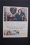 1941 Dual Ad: Woodbury Cold Cream & Prem Meat