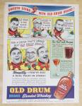 Click to view larger image of 1938 Old Drum Whiskey with Hot Toddy & Manhattan (Image3)